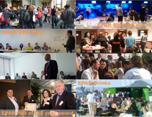 Check our Gallery for an impression of EPAR's events!