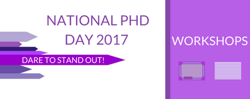 National PhD Day 2017